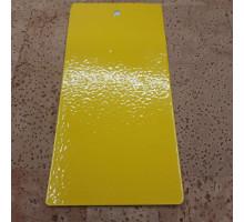 Краска порошковая желтая полиэфирная Etika ral 1023 шагрень