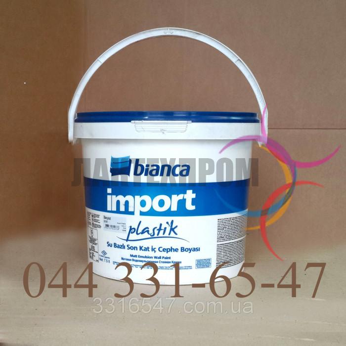 Краска Фасадная Силиконовая Bianca 20 кг