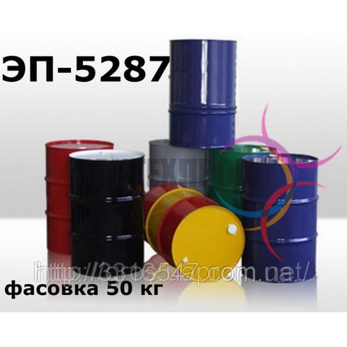 Эмаль ЭП-5287 для нанесения на поверхности сталей, чугуна, алюминиевых и титановых сплавов