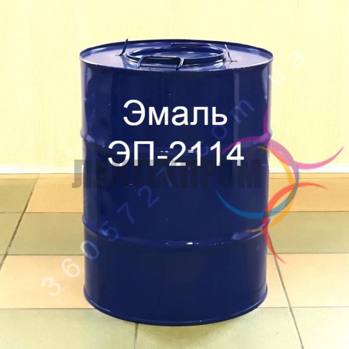 Эмаль ЭП-2114 для окрашивания корпусов приборов из цветных металлов, их сплавов, нержавеющих