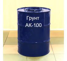 Грунт АК-100 для грунтования металлических и железобетонных поверхностей
