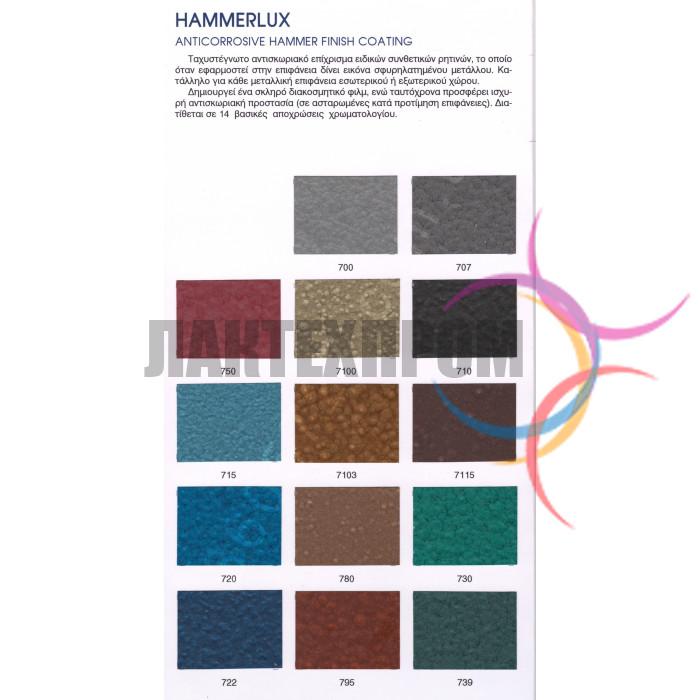 Молотковая краска Hammerlux 0,75л