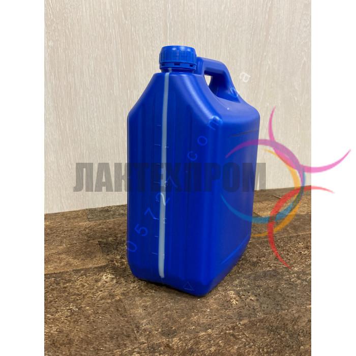 Пластиковая синяя канистра 5 литров