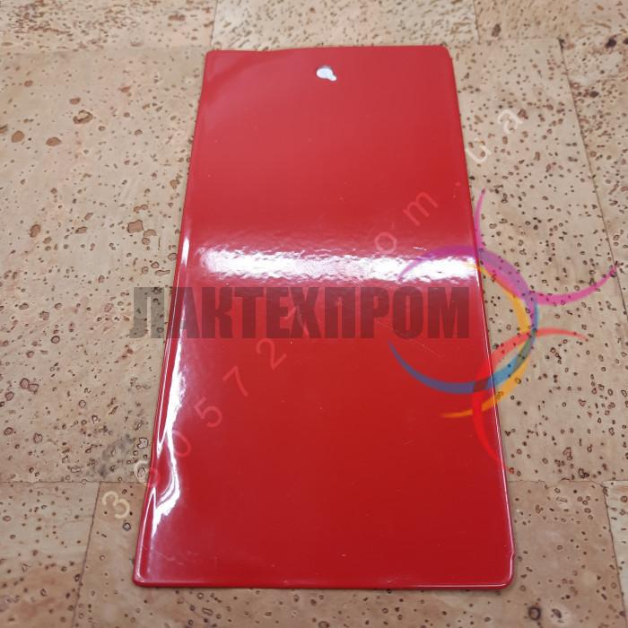 Порошковая красная краска полиэфирная Etika ral 3000 глянец