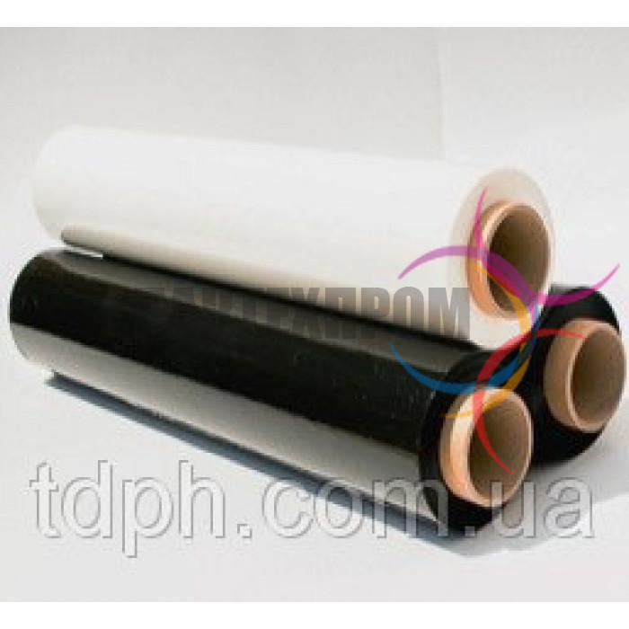 Стретч-плёнка упаковочная Черная и белая